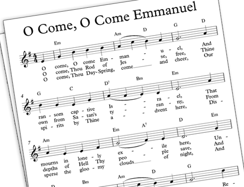 Favorite Carols: O Come, O Come, Emmanuel