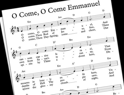Favorite Carols: O Come, O Come, Emmanuel